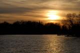Mill Pond Sunset  ~  October 28  [15]