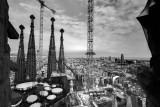 Sagrada Familia construction