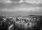 View from Sagrada Familia