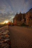 La Seu at sunset