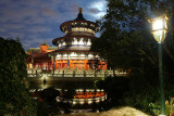 Temple of Heaven under the moon