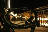 Boardwalk bench
