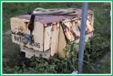 Forgotten air compressor.