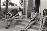 Hanging Out - Steve Ferguson, Mary Miller?, Mary Shay, Teresa Cornell