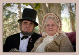 Abe and Mary Todd Lincoln