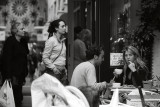 August 9  2008:  Morning at the Primrose Café