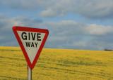 May 4 2010 : Give Way