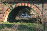 An arch of Richmond Railway bridge.