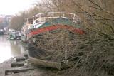 Houseboats near Kew Bridge.