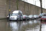 Higher flood than normal.
