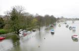 View down from Twickenham Bridge