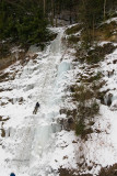 Climming Ice Falls