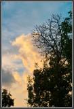 Approaching Sunset Clouds  I + Fill Light