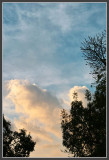 Approaching Sunset Clouds II + Fill Light