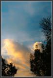 Approaching Sunset Clouds II - Fill Light