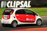 Mitsubishi all electic vehicle