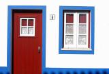 One door, one window