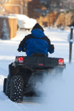ATV with Snow Plow