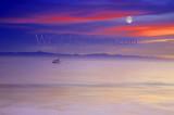 Santa Barbara Coastal Moonlight
