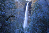 Bridalveil Falls Snow