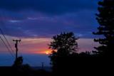 driveway sunset