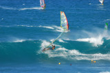 hookipa wind surfers