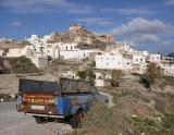 Santorini. Akrotiri village