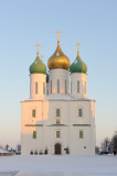 Moscow region. Town of Kolomna. Kolomna Kremlin. Assumption cathedral. 1672