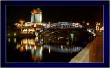 Moscow river, Academy of Science, Novo-Andreevsky bridge