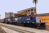 MRL 250 & 303 pulling a coal train.