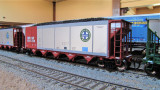 New ExactRail Autoflood coal hopps! www.exactrail.com