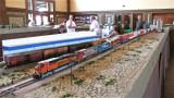 BNSF stack train at Pixley.