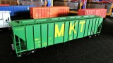 ExactRail's new HO scale Evans 4780 3-bay hopper, MKT
