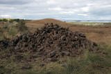 Stacked peat
