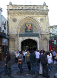 One of the 18 entrances of the Grand Bazaar