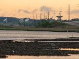 Wallops NASA facility, across Chincoteague Bay