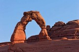 Delicate Arch after sunrise