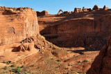 Delicate Arch, across Winter Camp Wash