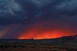 Stormy sunset over Fiery Furnace