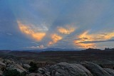 View towards the La Sal Mountains