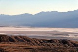 View of Death Valley, on  Artists Drive