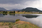 Thunder storm over the Rockies, viewed from Estes Park