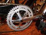 New 52 tooth chain ring and crank arms on Powertrek Dynamo