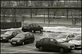 Cars in a winterish Scene