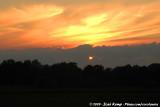 Sunset in Drenthe
