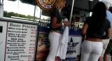 baseball beer girls.