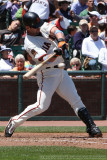 San Francisco Giants outfielder Aaron Rowand