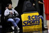 CBS handheld cameraman