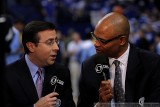 CBS Sports announcers Ian Eagle and Clark Kellogg