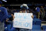 North Carolina fan pleads to UK star John Wall